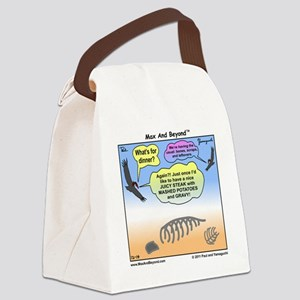 000048A10X10 Canvas Lunch Bag