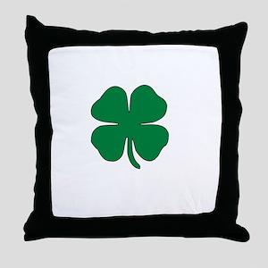 Part Irish White Throw Pillow