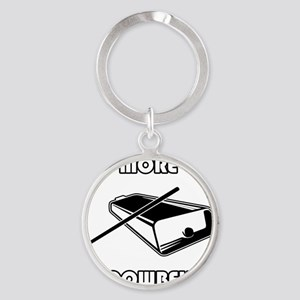 morecowbell Round Keychain
