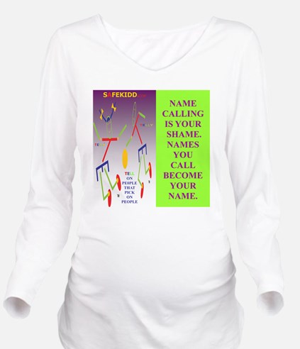 NAME SHME TI. TY. Long Sleeve Maternity T-Shirt