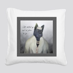 BellaDolled Square Canvas Pillow