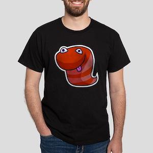 Alien Buddies SpaceWorm Dark T-Shirt