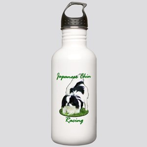 ChinRacingNoBack4White Stainless Water Bottle 1.0L