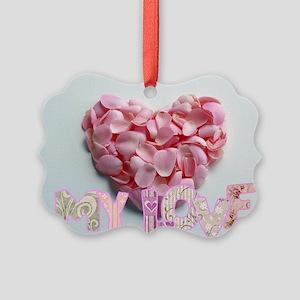My Love Picture Ornament