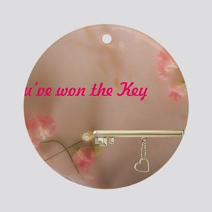 Youve won the Key Round Ornament