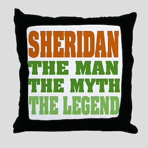 Sheridan The Legend Throw Pillow