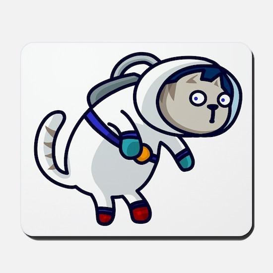Alien Buddies Space Cat Mousepad
