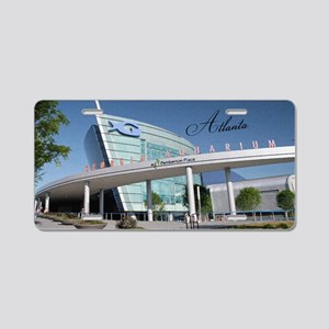 Atlanta_5x3rect_sticker_Geo Aluminum License Plate