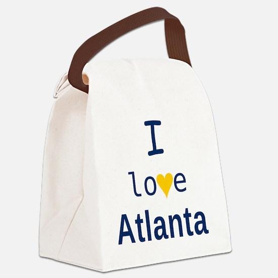 Atlanta_10x10_apparel_ILove_BlueY Canvas Lunch Bag
