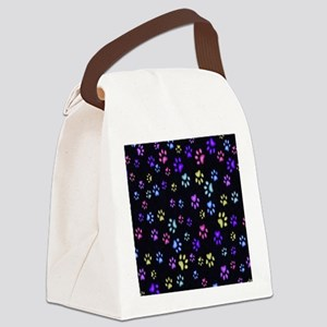 Catty Paws copy Canvas Lunch Bag