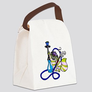 cheshhigher_cat Canvas Lunch Bag
