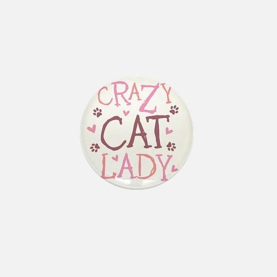 Crazy-Cat-Lady-updated-2011 Mini Button