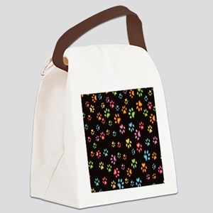 Catty Paws Canvas Lunch Bag