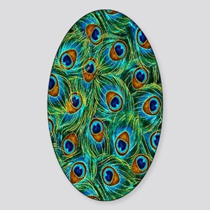 Feathers Sticker (Oval)