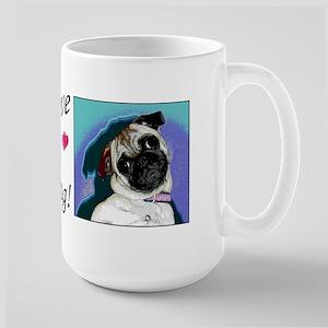 Love My Pug Mug