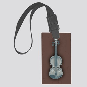 violin1-CRD Large Luggage Tag