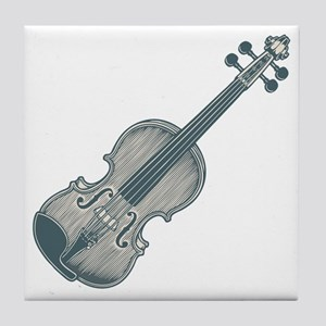 violin1-T Tile Coaster