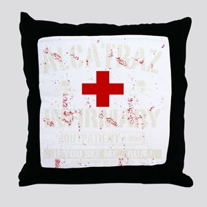 ALCATRAZ_INFIRMARY Throw Pillow