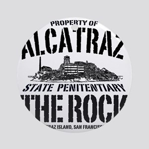 ALCATRAZ_THE ROCK-2_b Round Ornament