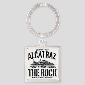 ALCATRAZ_THE ROCK-2_b Square Keychain