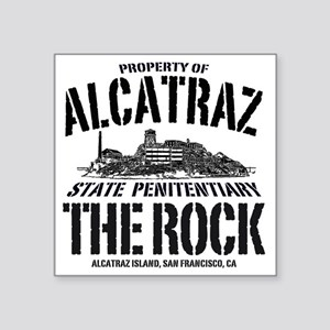 "ALCATRAZ_THE ROCK-2_b Square Sticker 3"" x 3"""