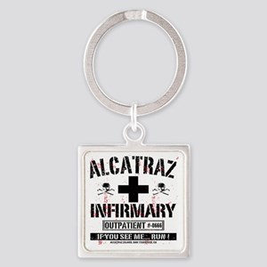ALCATRAZ_INFIRMARY_b Square Keychain