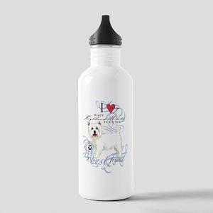 westie-slider2 Stainless Water Bottle 1.0L