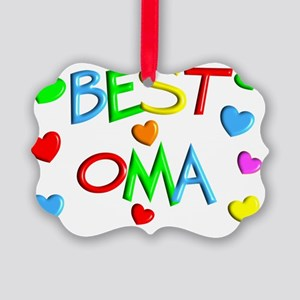 best OMA Picture Ornament