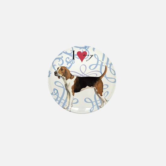 TreeWalker-oval charm Mini Button