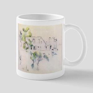 Sketch of a house - Paul Cezanne - c1880 11 oz Cer