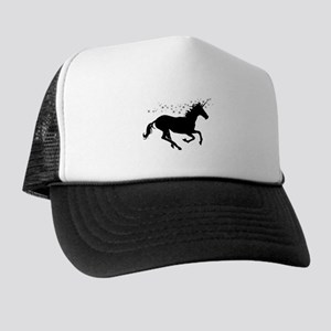 Magical Unicorn Silhouette Trucker Hat