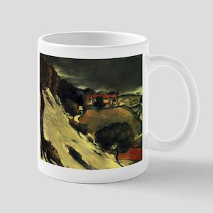 Snowmelt in LEstaque - Paul Cezanne - c1870 11 oz