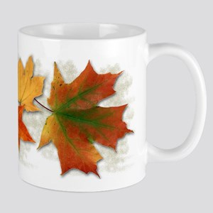 Maple Leaves in Autumn Mug