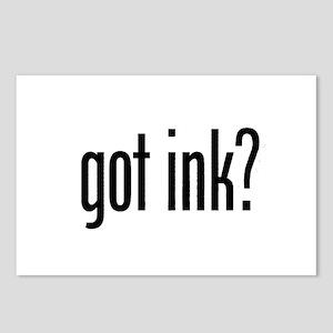 got ink?  Postcards (Package of 8)