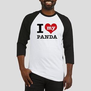 i love my Panda Baseball Jersey
