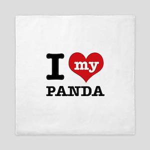 i love my Panda Queen Duvet