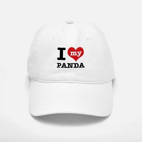 i love my Panda Baseball Baseball Cap