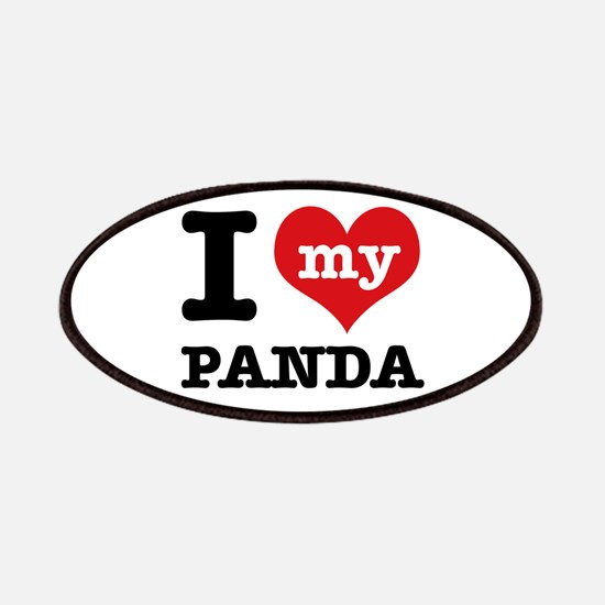 i love my Panda Patches