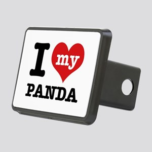 i love my Panda Rectangular Hitch Cover