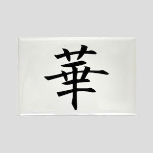 Japanese kanji - gay Rectangle Magnet