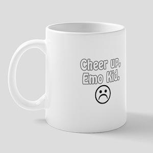 Cheer up, emo kid  Mug