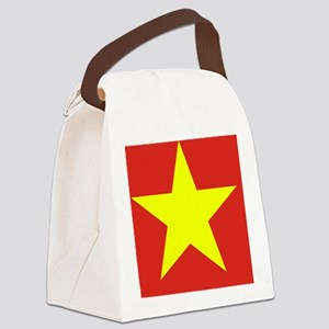 Flag_of_Vietnam Canvas Lunch Bag