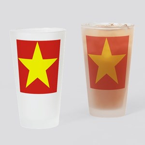 Flag_of_Vietnam Drinking Glass