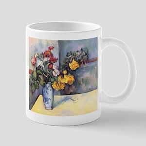 Still life - flowers in a vase - Paul Cezanne - c1
