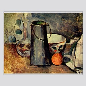 Still Life - Paul Cezanne - c1879 Small Poster