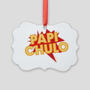 PAPI CHULO Picture Ornament