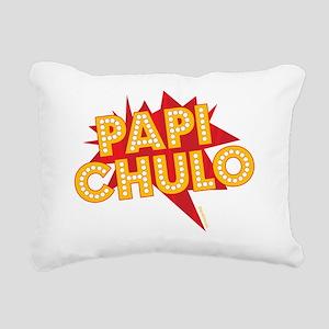 PAPI CHULO Rectangular Canvas Pillow