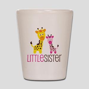 GiraffeLittleSisterV2 Shot Glass