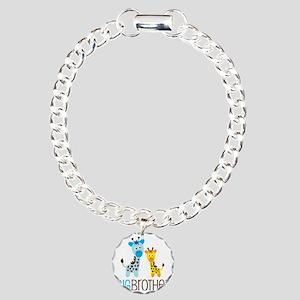 GiraffeBigBrotherV2 Charm Bracelet, One Charm