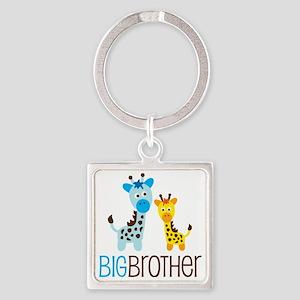 GiraffeBigBrotherV2 Square Keychain